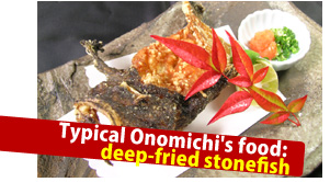 Deep-fried stonefish